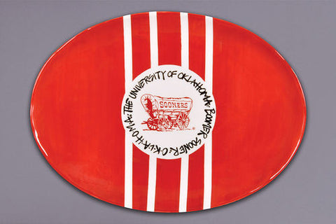 University of Oklahoma Sooners Platter