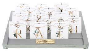 Jane Marie Initial Necklaces