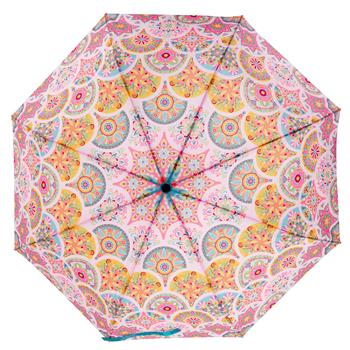Umbrella Pink Medallion