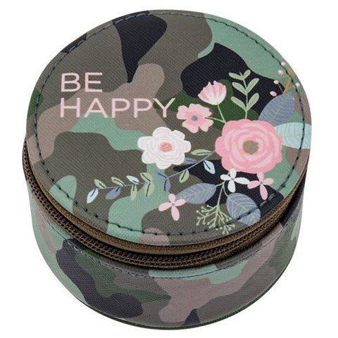 Round Travel Case Camo