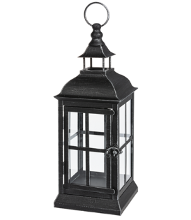 Antique Black Metal Lantern