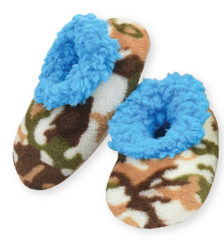Toddler Camo Snoozies! - Blue