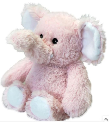 PINK ELEPHANT - Cozy Plush Heatable Lavender Scented Stuffed Animal