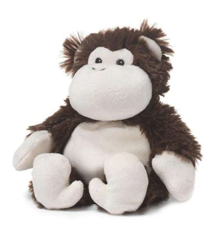 Monkey!  - Cozy Plush Heatable Lavender Scented Stuffed Animal