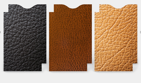 RFID CREDIT CARD SLEEVES -LEATHER LOOK COLLECTION