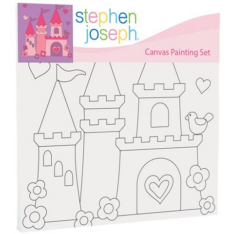 Princess Castle Craft Canvas Set