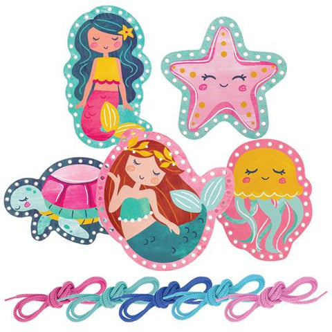 Mermaid Lacing Cards