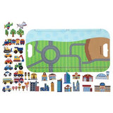 Transportation Magnetic Play Set
