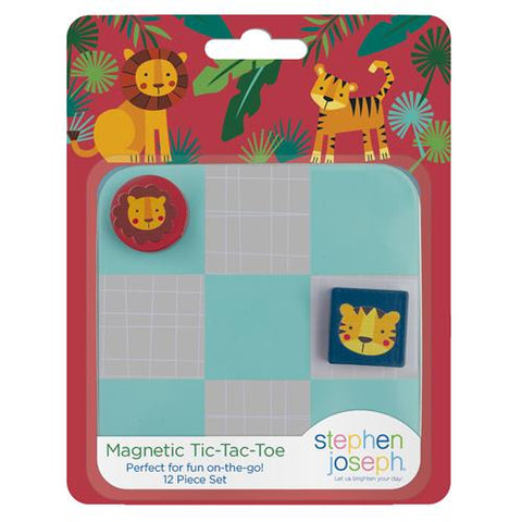 Zoo Magnetic Tic Tac Toe Set