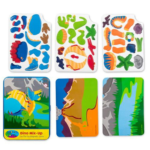 Dino On-the-Go Magnetic Game
