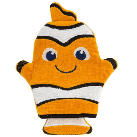 Clownfish Bath Mitt