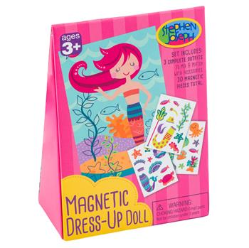 Mermaid Magnetic Dress-Up Doll
