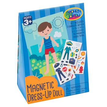 Boy Magnetic Dress-Up Doll