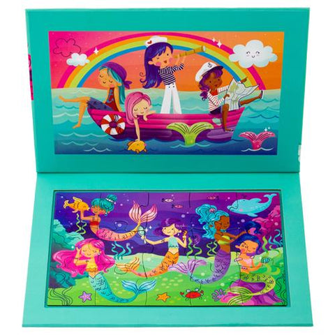 Mermaid 2-Sided Magnetic Puzzle