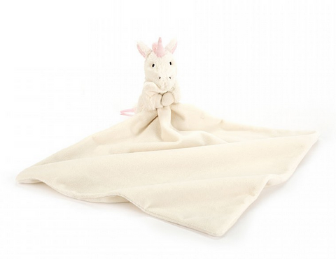 Bashful Unicorn Soother Blanket