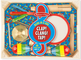 Melissa & Doug Band-in-a-Box - Clap! Clang! Tap!