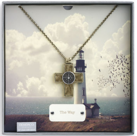 Story Cross Pendant - The Way