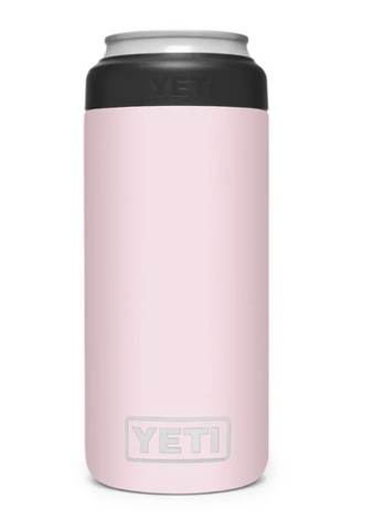 YETI® Ice Pink Rambler 12 oz Colster Slim Can Insulator