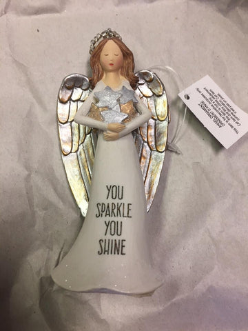 Angel Ornament - Sparkle