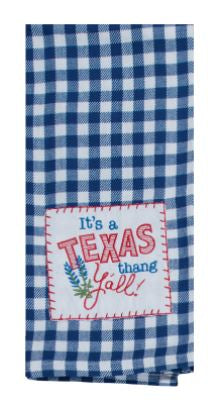 Copy of It's A Texas Thang Y'all Cotton Krinkle Flour Sack Kitchen Towel 18x26 from Kay Dee Designs