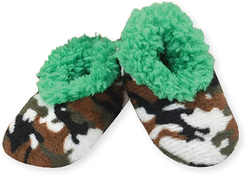 Toddler Camo Snoozies! - Green