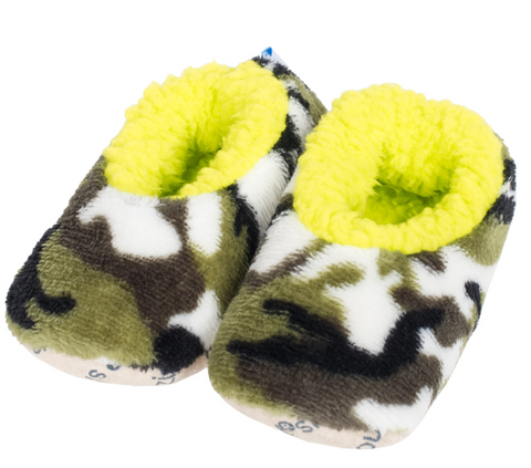 Toddler Camo Snoozies! - Lime