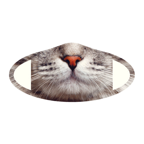 Face Mask Polyester & Spandex Blend - Cat