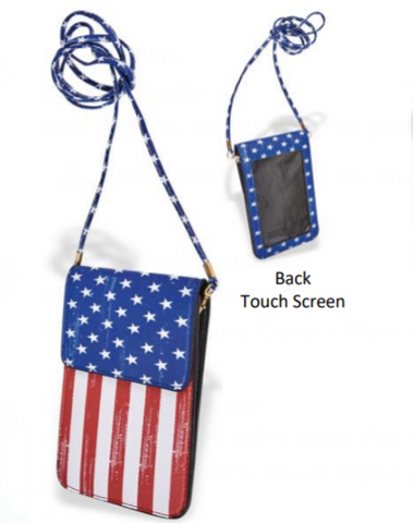 USA Cell Phone Bag
