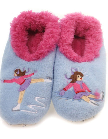 Women's Splitz Design Snoozies! - Ice Skating