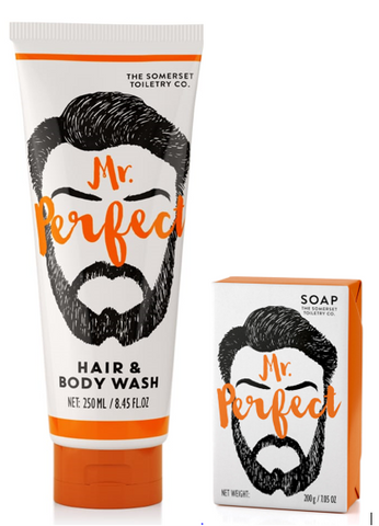 Mr. Perfect- Soap & Hair & Body Wash Set