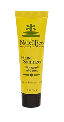 .5 oz Mini Hand Sanitizer in Orange Blossom Honey