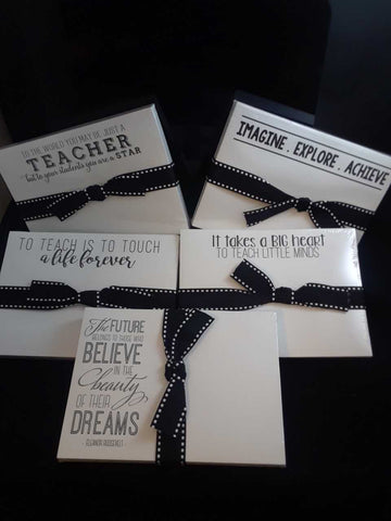 Teacher Slab Pad Gift