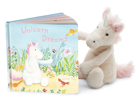 Unicorn Dreams Book **Retired** + Bashful Unicorn BUNDLE