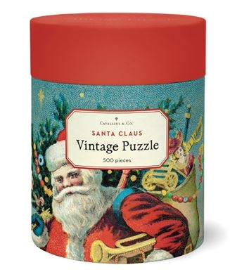 Cavallini & Co. Santa Claus Vintage Puzzle 500 Pieces