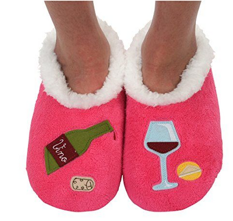 Women's Cocktail Hour Splitz Design Snoozies! - Red Wine
