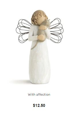 With Affection - Angel- Willow Tree