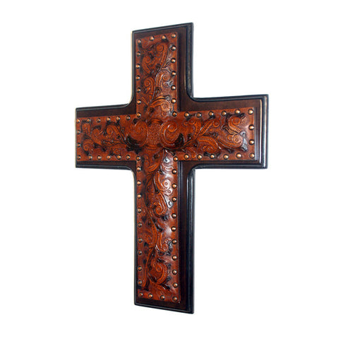 Leather Wall Cross
