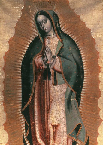 """Virgin de Guadalupe""- Set of 10 Greeting Cards"