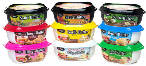 Choose 6 Small Chef Shamy Gourmet Butters