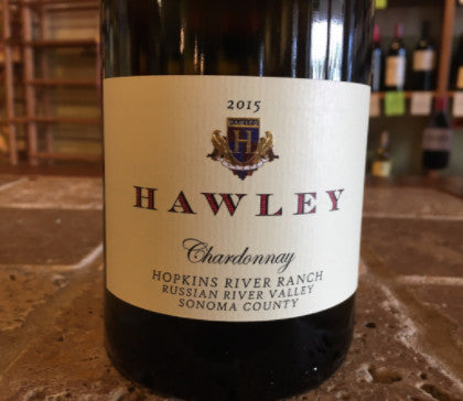 2015 Hawley Chardonnay, Hopkins River Ranch, Russian River