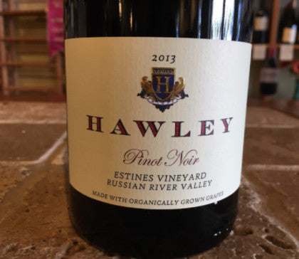 2013 Hawley Estines Vyd Pinot Noir, Russian River Valley