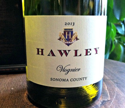 2017 Estate Viognier, Hawley Vineyard