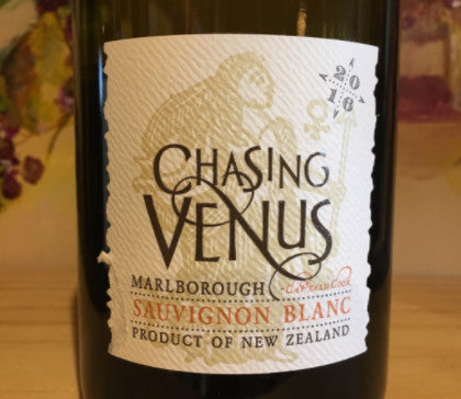 2016 Chasing Venus Sauvignon Blanc, Marlborough, New Zealand