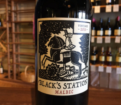 2015 Black's Station Malbec, Yolo County, CA