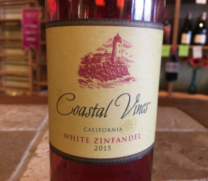 2015 Coastal Vines White Zinfandel