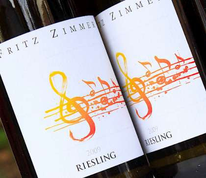 2014 Fritz Zimmer Riesling Qba