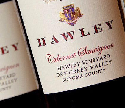 2014 Hawley Estate Cabernet Sauvignon