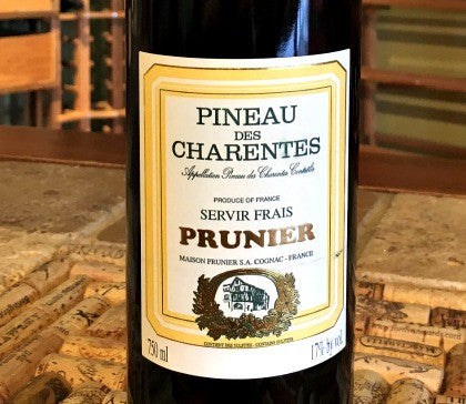 Prunier Pineau Des Charentes Red