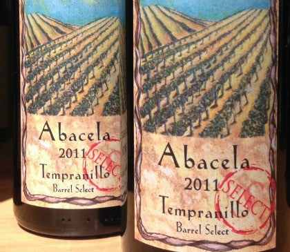 2011 Abacela Barrel Select Tempranillo