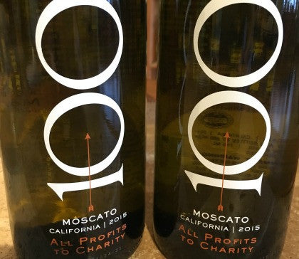 "2015 ""100 Percent Wine"" Moscato, California"